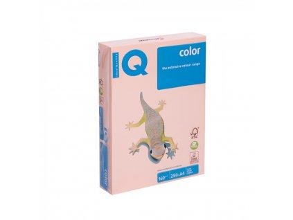 Kopírovací papier A4 160g Motif IQ lososový SA24 A4 X416MA4