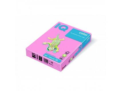Kopírovací papier A4 160g Motif IQ ružový PI25 A6 X416MA6