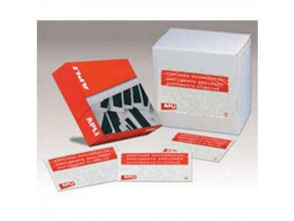 Obálky na sprievodky 173x125 100ks APLI