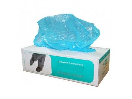 Ochranné jednorazové návleky na obuv modré 100ks