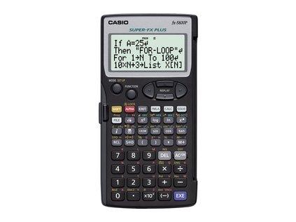 FX 5800 P CASIO