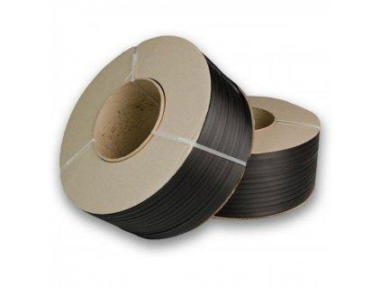 Viazacia páska PP 12mm 0,55 2500m 200d čierna