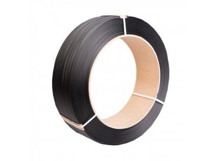 Viazacia páska PP 15mm 0,80 1500m 406d čierna