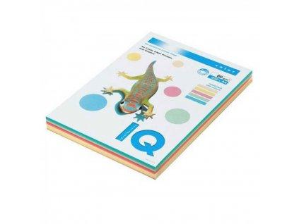 Kopírovací papier A4 80g IQ color 5x50 mix pastelové farby