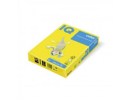 Kopírovací papier A4 80g IQ color neónovo žltý NEOGB
