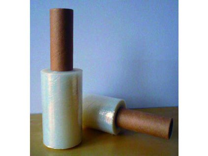 Fólia stretch 20mic 10cm granát s rúčkou