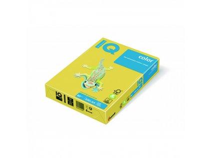 Kopírovací papier A4 80g Motif IQ kanárikovo žltý CY39 C1 X408MC1