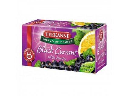 Čaj TEEKANNE Ovocný Black Currant 50g