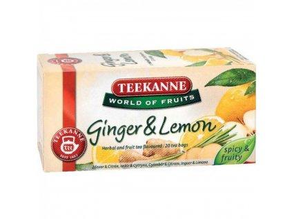 Čaj TEEKANNE Ovocný Zázvor Citrón 35 g