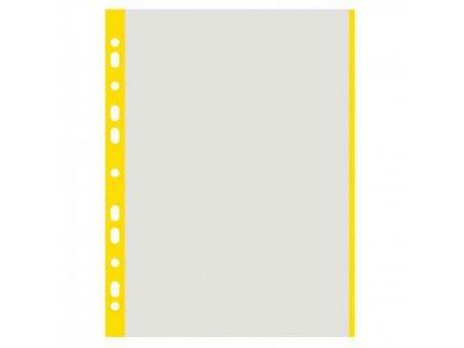 Euroobal A4 40 mic so žltým okrajom