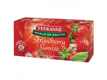 Čaj TEEKANNE Ovocný Strawberry Sunrise 50g