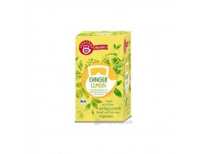 Čaj TEEKANNE Bio Ginger Lemon