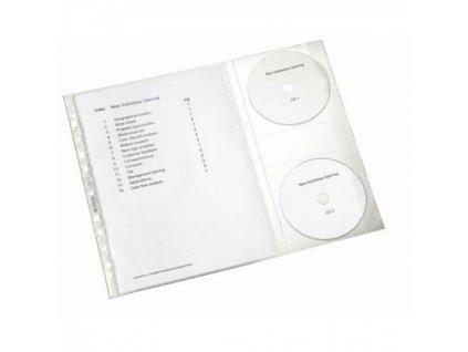Euroobal s vreckami na CD Combo 5 ks 120 mic LEITZ