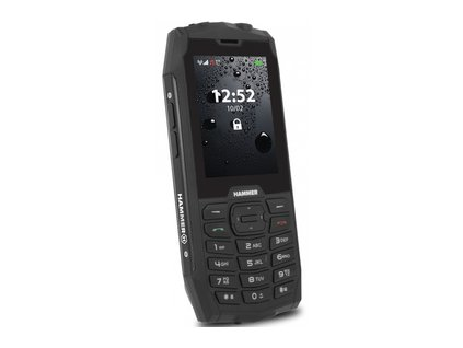 Hammer 4 tlačidlový čierny myPhone