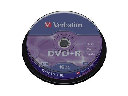 43498P DVD+R 16X 10KS cake VERBATIM