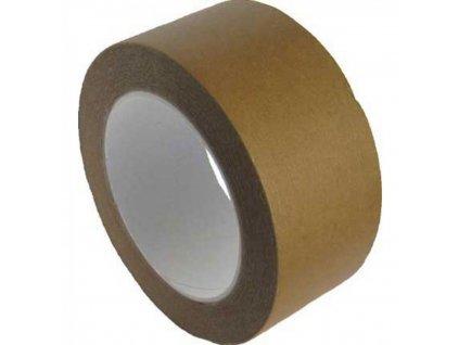 Lepiaca páska 50x50m papierová hnedá Solvent