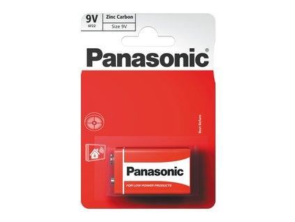 6F22 1BP 9V Red zn PANASONIC