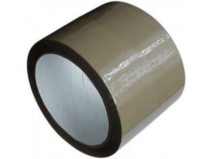 Lepiaca páska 75x66m PACK hnedá