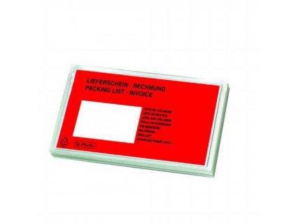 Obálky na sprievodky DL (100 ks) OBSHDL okienko vlavo dole