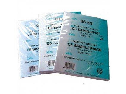 Obálky C5 samolepiace 25 fólia