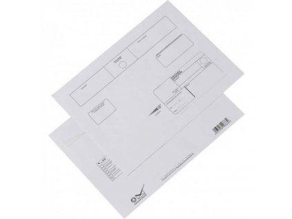 Obálky C4 Doporučene s páskou