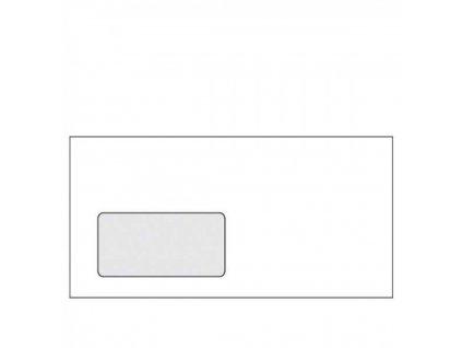 Obálky DL pre automatické plnenie, okienko vľavo
