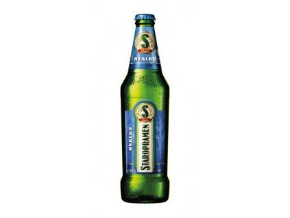STAROPRAMEN pivo nealkoholické sklo