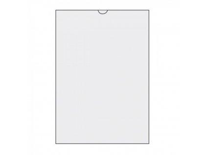 Obal na dokumenty A5 U na výšku PVC 150 mic 100ks