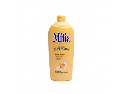 Tekuté mydlo Mitia Med&Mlieko náhr.náplň 1000ml