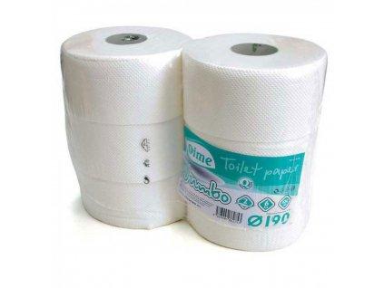 TP Jumbo 19cm 2 vrst. biely cellulose 010319