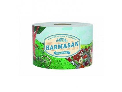 Toaletný papier 2 vrstvový HARMASAN 69m biely 1