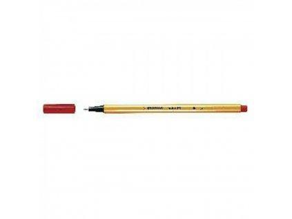 Liner STABILO Point 88 červený 8840