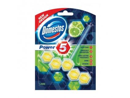 Domestos WC Power5 Lime 55g guľôčky do WC