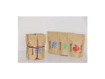 3PAK balenie 3 zrnk. káv KaffeeValentini