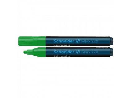 Popisovač lakový SCHNEIDER Maxx 270, 1 3 mm, zelený