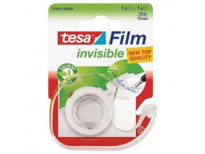Lepiaca páska TESA INVISIBLE 19mmx10m s odvíjačom