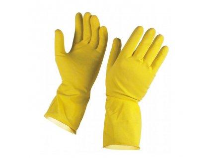 Gumené rukavice veľkosť 7 S