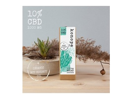 CBD 10% v kokosovom oleji 10ml KONOPE