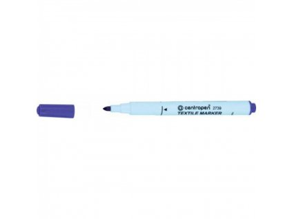 Popisovač Centropen 2739 na textil fialový