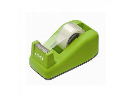 Odvíjač lepiacej pásky, zelený