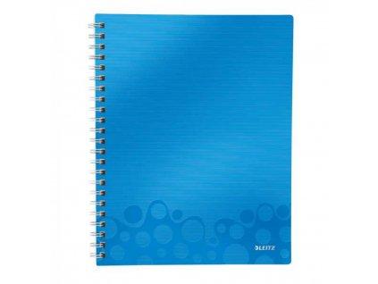 Blok A4 Leitz WOW linajkový modrý