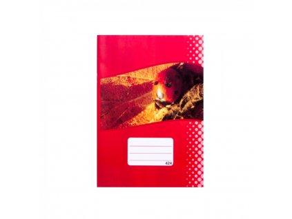 Zošit A4 424, linajkový, 20 listov