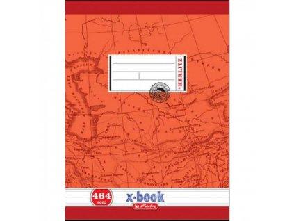 Zošit A4 464, linajkový, 60 listov