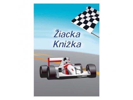 Žiacka knižka motív Formula, 8 strán