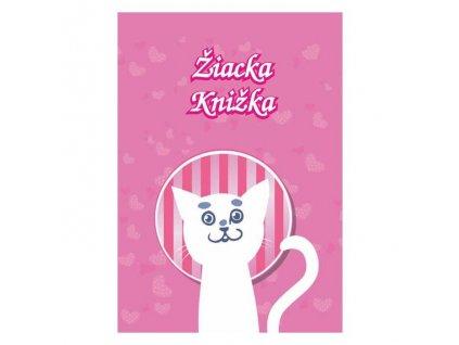 Žiacka knižka motív Mačka , 8 strán
