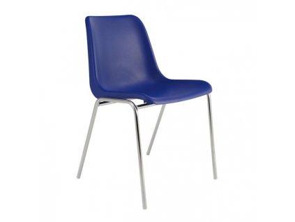 Jedálenská stolička Vincenza, tmavo modrá