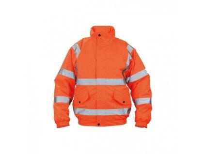 Bunda bezpečnostná CLOTON PILOT HV oranžová M
