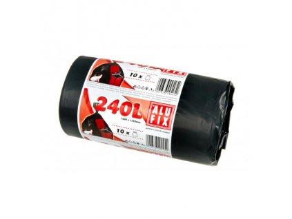 Vrecia 240l 35mic. 1000x1250mm 10 ks čierne1