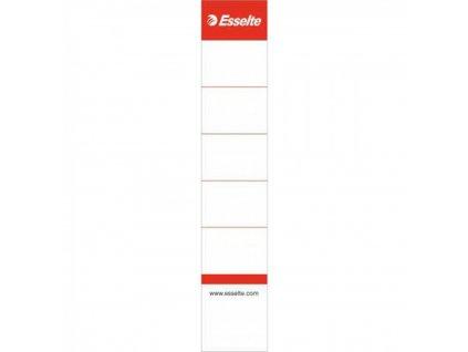 Násuvné štítky 3 cm Esselte 10ks pre 5cm poradač ES81073