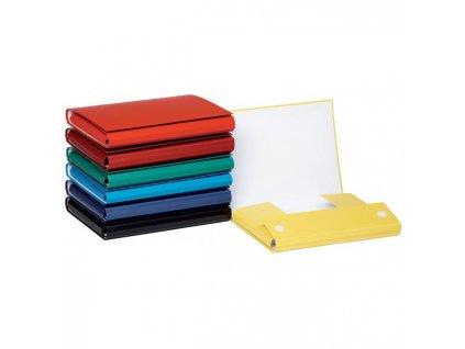 Kartónový box so suchým zipom 35mm DONAU modrý